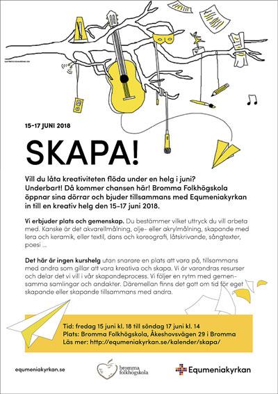 Affisch för SKAPA